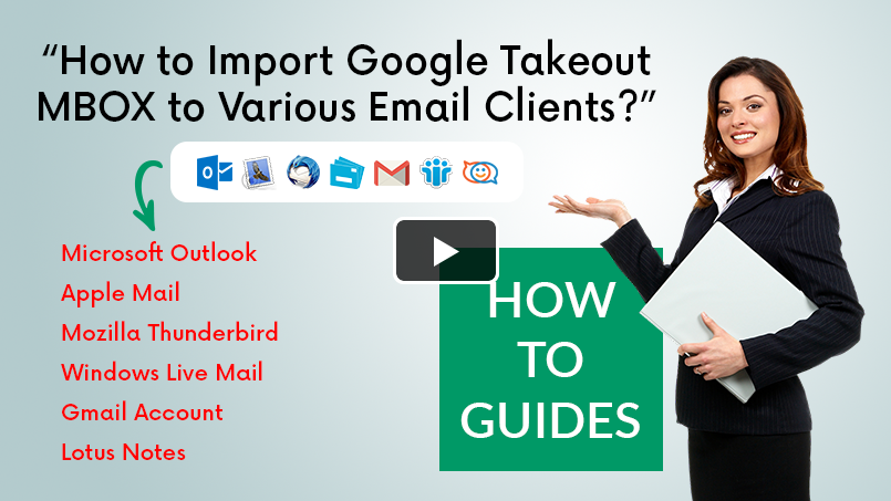 How to Import Gmail Emails to Outlook, Thunderbird, Apple