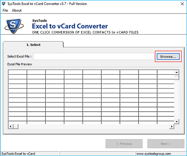How to Convert Excel Contacts to vCard and export  xlsx