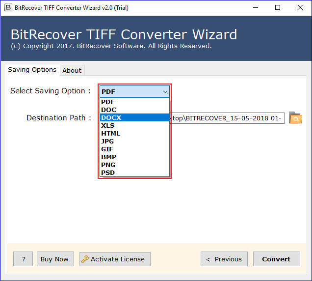 How to Convert TIFF File to Word Document DOC or DOCX Format in bulk